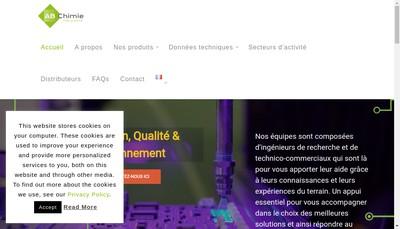 Site internet de Abchimie