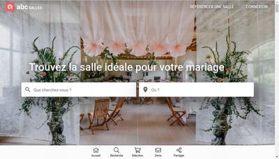 Site internet de Abc Salles