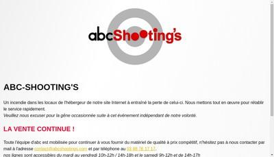 Site internet de Abc Shooting'S