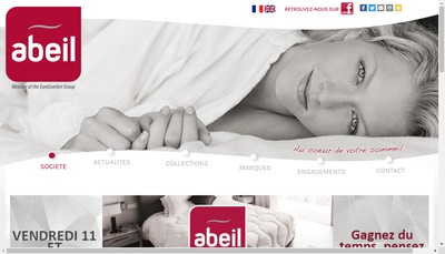 Site internet de Abeil