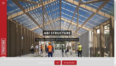 Site internet de Abi Structure