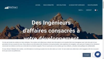 Site internet de Abistart
