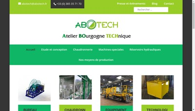 Site internet de Abotech