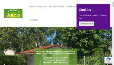 Site internet de Arcis