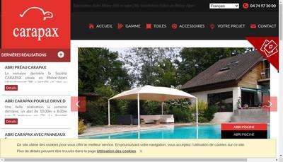 Site internet de Carapax France