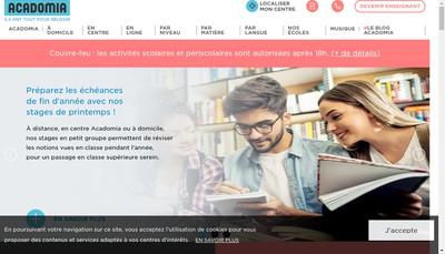 Site internet de Cours Etudes Secours