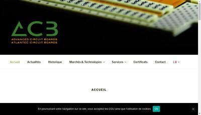 Site internet de Atlantec