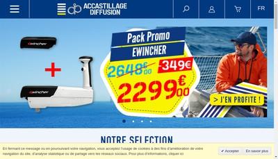 Site internet de La Rochelle Accastillage