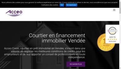 Site internet de Acceo Conseil