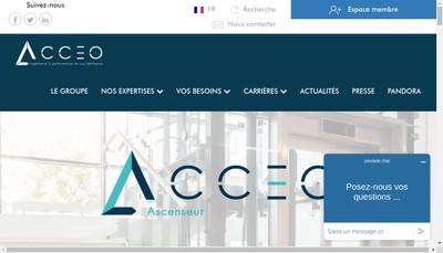 Site internet de Acceo