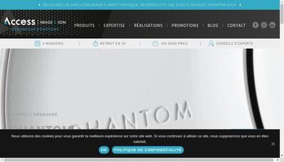 Site internet de Access Images