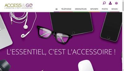 Site internet de Accessandgo