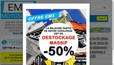 Site internet de EMX