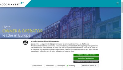 Site internet de Accorinvest