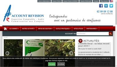 Site internet de Account Revision