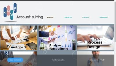 Site internet de Account'Sulting