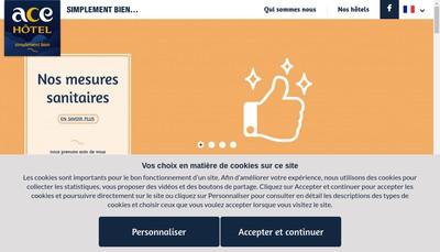 Site internet de Ace