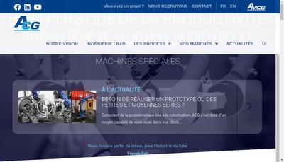Site internet de Automatismes CG