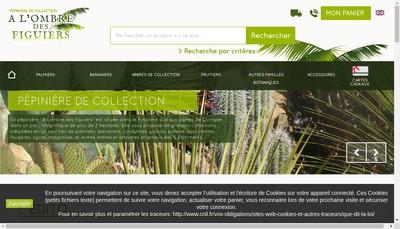Site internet de A l'Ombre des Figuiers