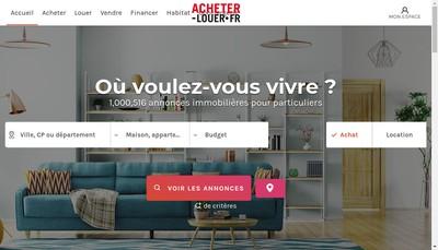 Site internet de Acheter-Louer