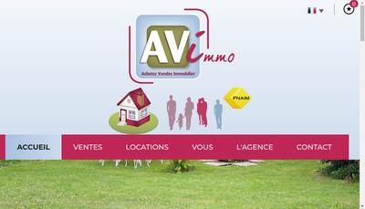 Site internet de Av Immobilier