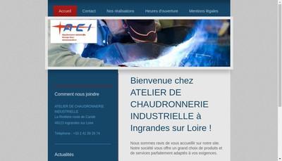 Site internet de Aci
