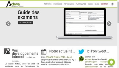 Site internet de Ackwa