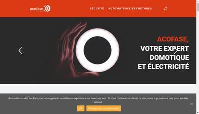 Site internet de Acofase SARL
