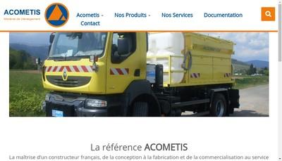 Site internet de Acometis Production