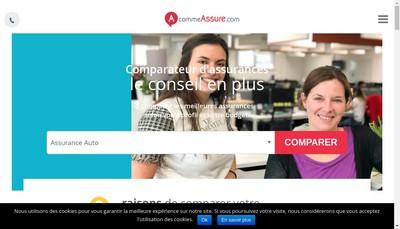Site internet de Media Courtage - Acommeassure