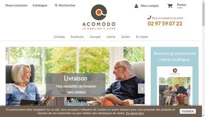 Site internet de Acomodo