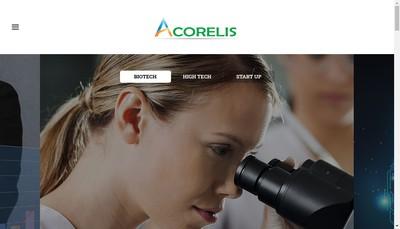 Site internet de Acorelis