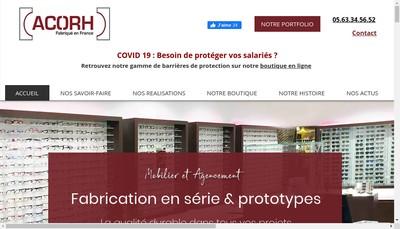 Site internet de Acorh