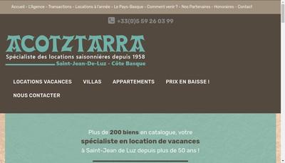 Site internet de Agce Acotztarra et Turbe Reunis