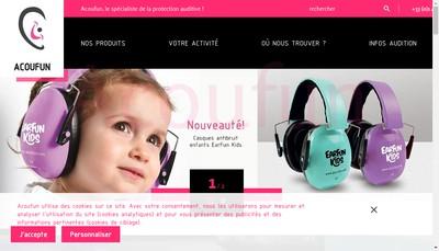 Site internet de Acoufun