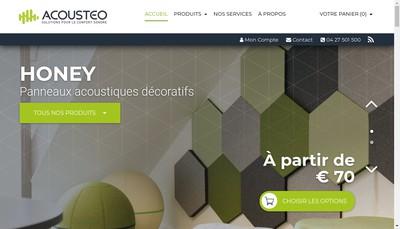 Site internet de Acousteo