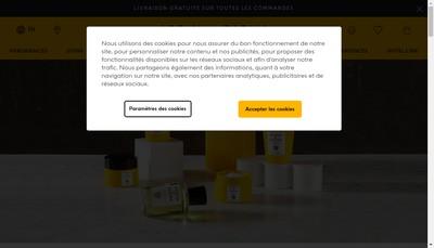 Site internet de Acqua Di Parma SRL