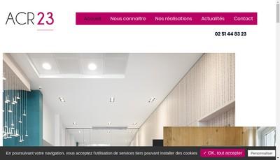 Site internet de Acr-23