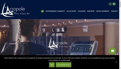 Site internet de L'Acropole