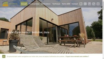Site internet de Acroterre