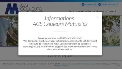 Site internet de GIE Couleurs Mutuelles