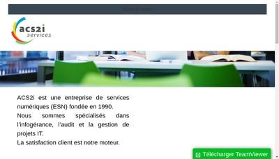 Site internet de Acs2I