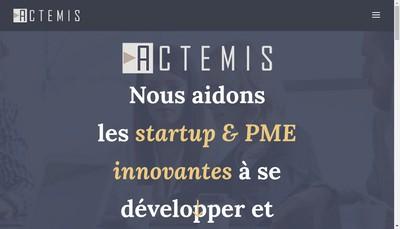 Site internet de Actemis Conseil