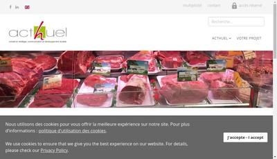 Site internet de Acthuel