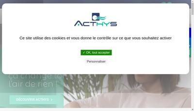 Site internet de Acthys