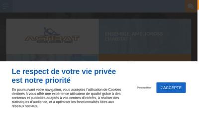 Site internet de Actibat