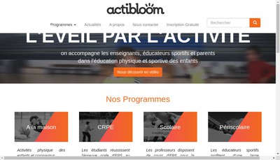 Site internet de Bloomaction