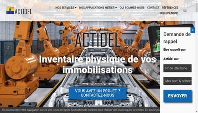Site internet de Actidel