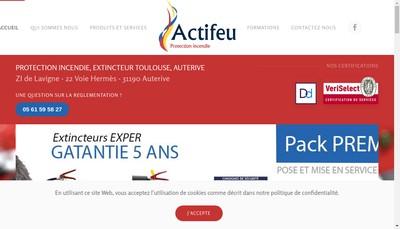 Site internet de Actifeu