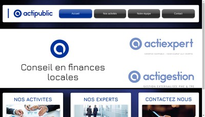 Site internet de Actipublic